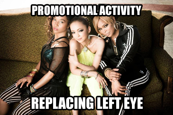 Asianjunkie 160613 Promotional activity - Namie with TLC