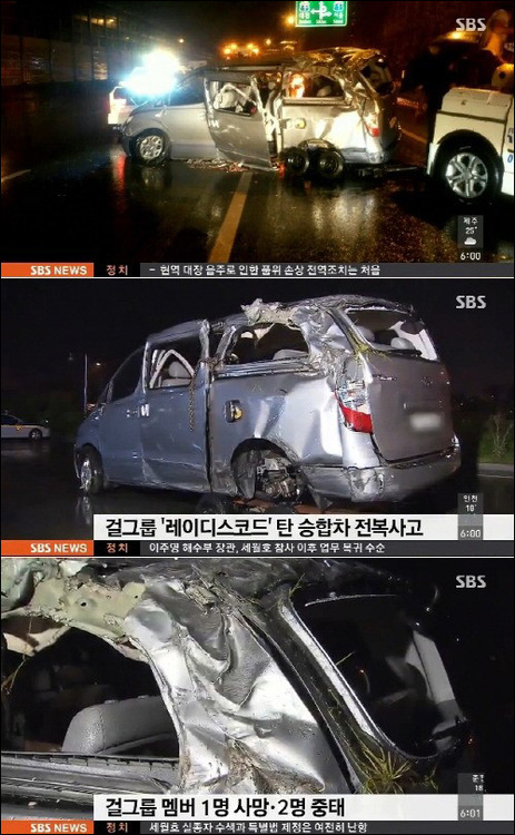 Integrante del grupo coreano BTS , fallese en tragico accidente automovilístico
