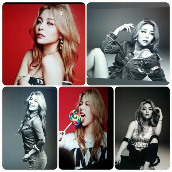 Ailee looking all sultry for March 2015 GQ Korea
