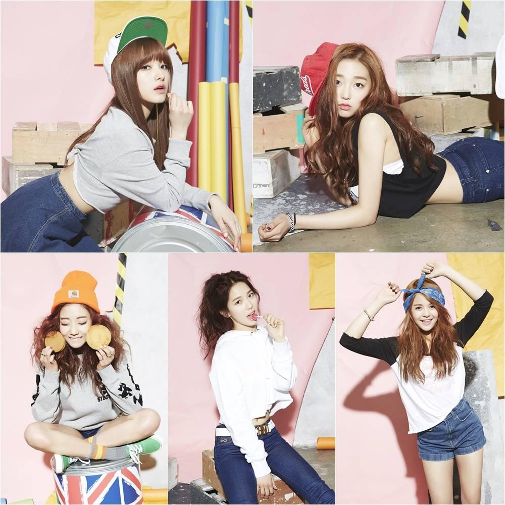 Cube Entertainment Clc Cube Entertainment's New Girl