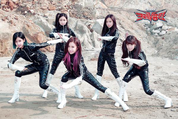 Crayon Pop hospitalized after car accident, no injuries because thugs don't cry