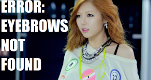 HyunANoEyebrows
