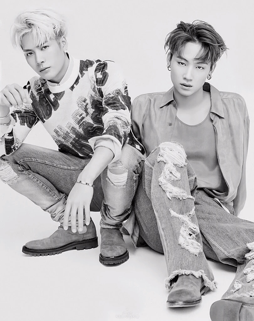 Jackson and JB - Grazia