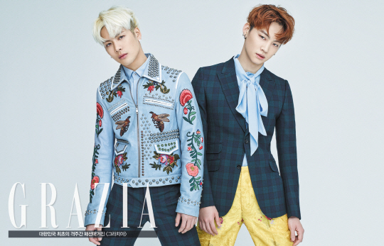 Jackson and JB - Grazia (1)