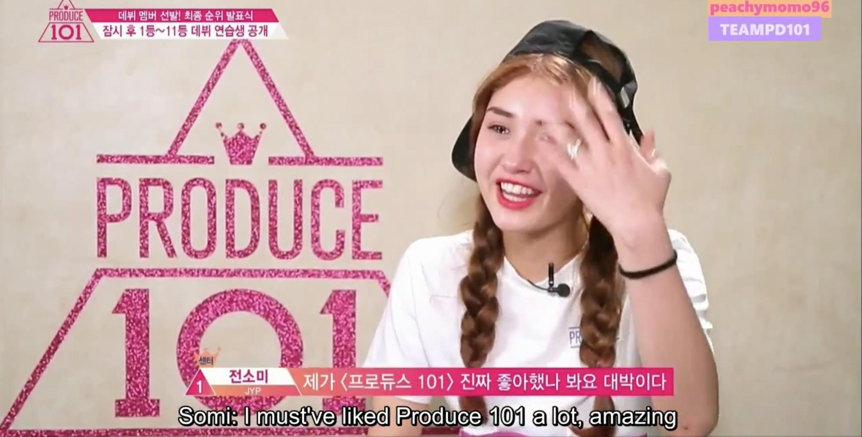 Produce 101 Final-Somi