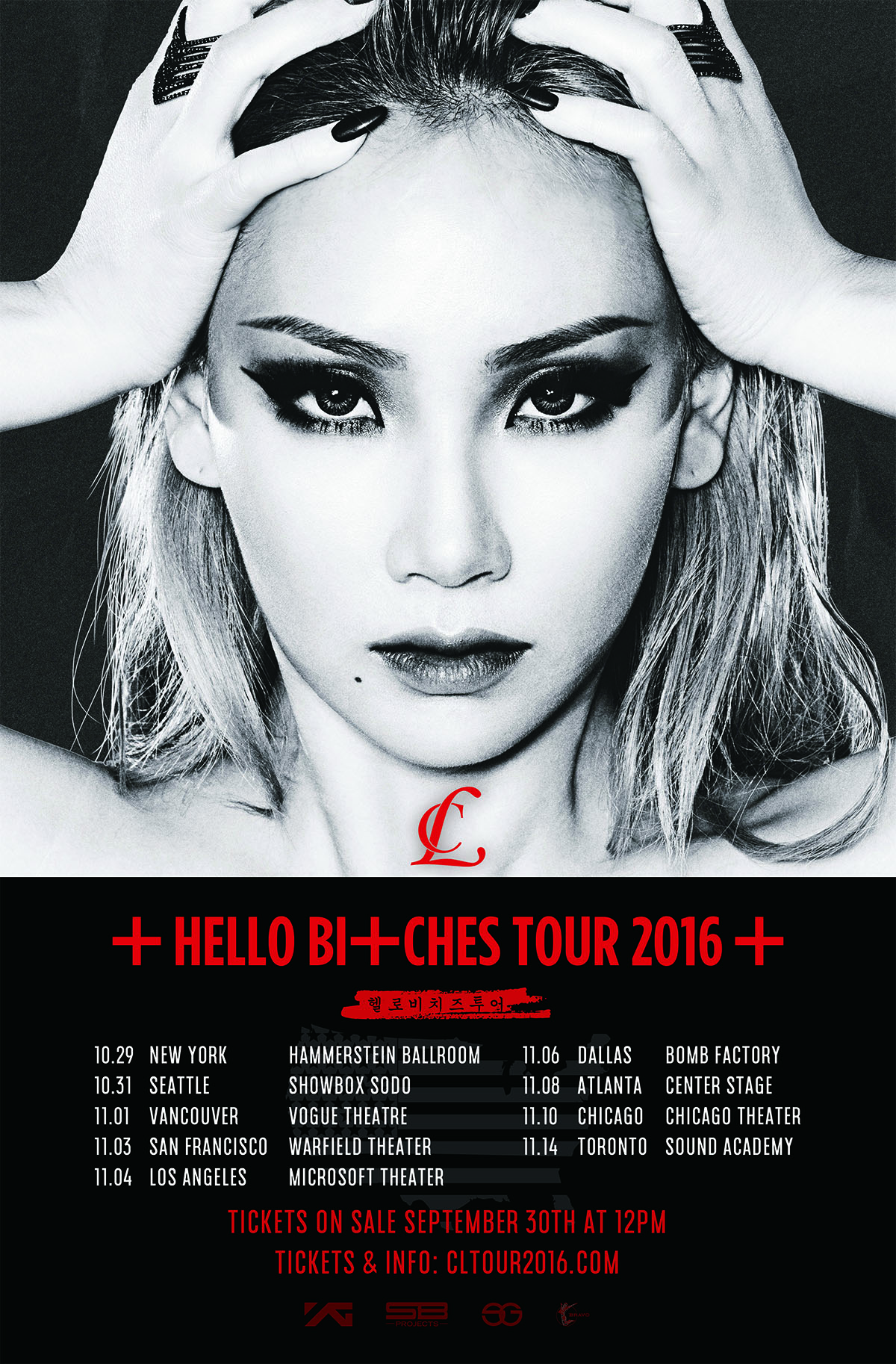 clhellobitchestour. cl will embark on solo tour of north america called 'hello
