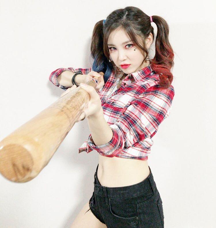 Asian Harley Quinn Cosplay