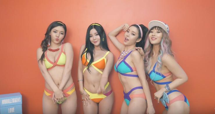 Kpop laysha hyeri sexy dance compilation