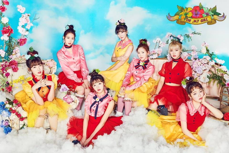 """Oh My Girl\'s """"Coloring Book"""" derailed by the constant sound of ..."""