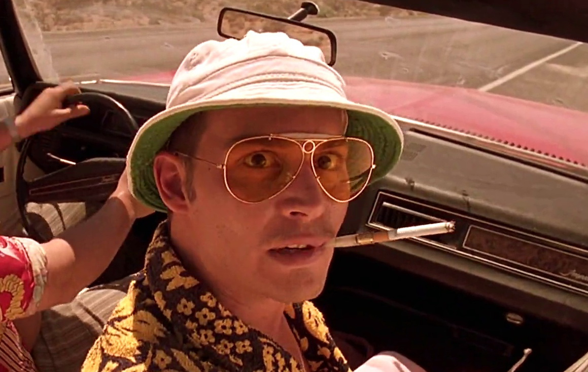fear and loathing in las vegas a Fear and loathing in las vegas fear and loathing in las vegas: a savage journey to the heart of the american dream is a novel by hunter s thompson, illustrated by ralph steadman the book is a roman à clef, rooted in autobiographical incidents.