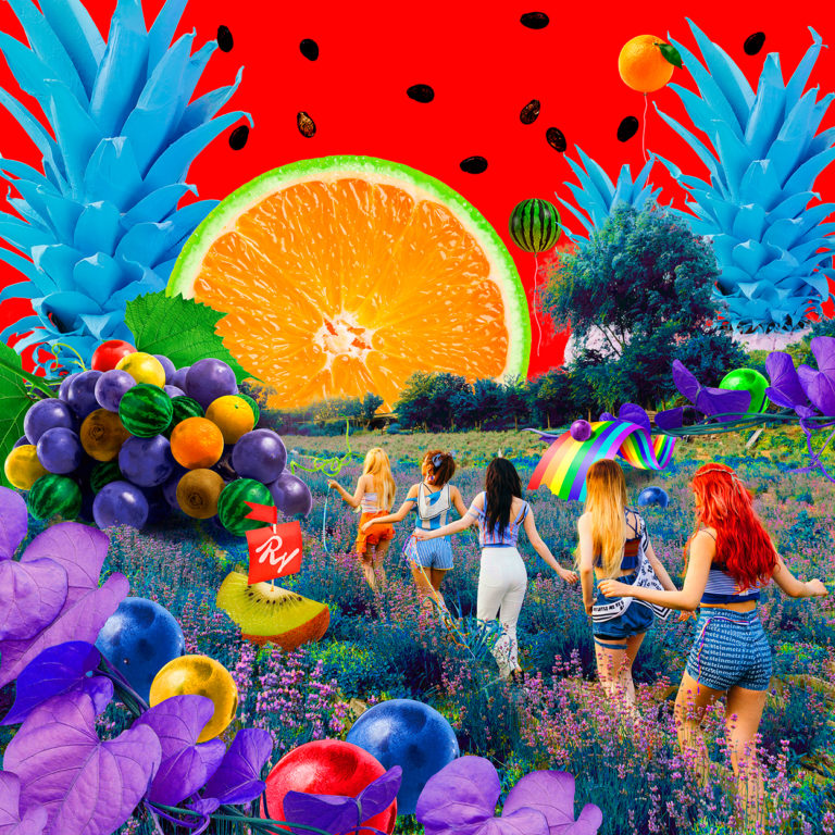 red velvet release summer themed teaser pics for the red summer