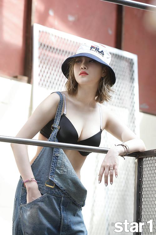 Yezi finally gets sexy in a photoshoot, modelling FILA ...