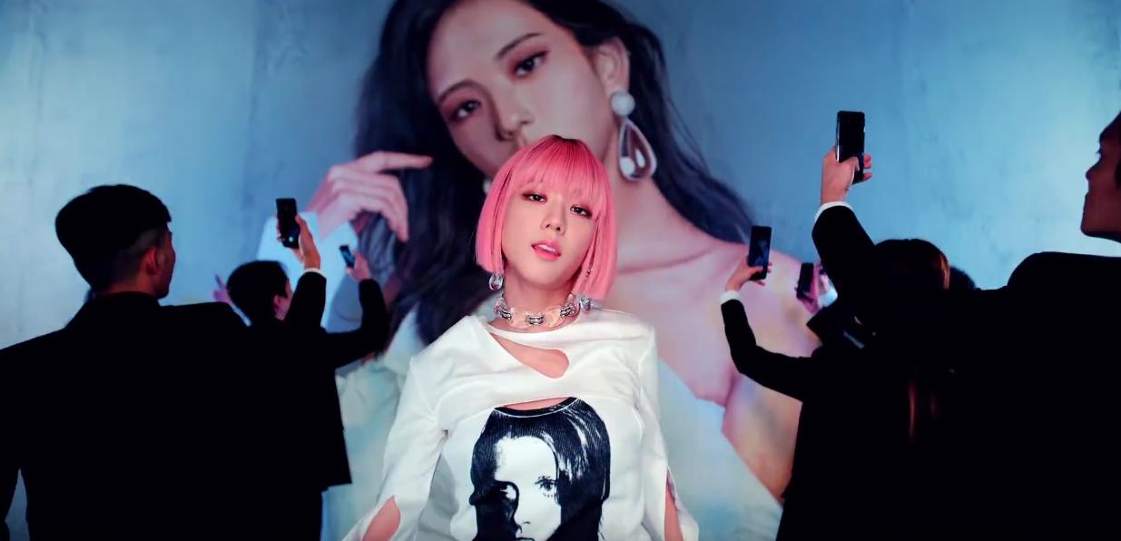 Jisoo S Pink Wig Scene In Blackpink S Ddu Du Ddu Du Stood Out In