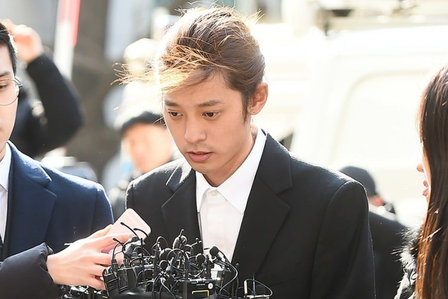 chaussures de sport bb6bc 1465e Jung Joon Young reportedly wiped data from a phone before ...