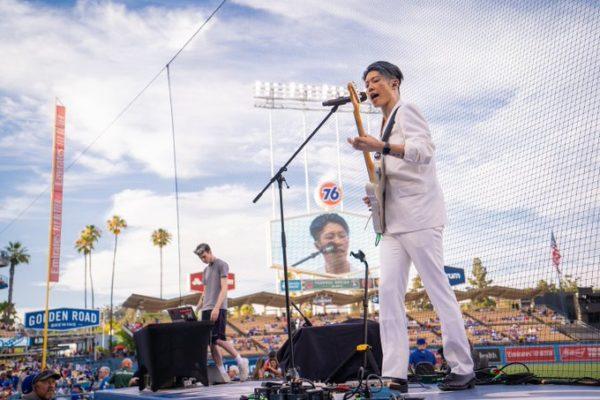Miyavi Performs Songs Does Anthem At Dodger Stadium World Tour