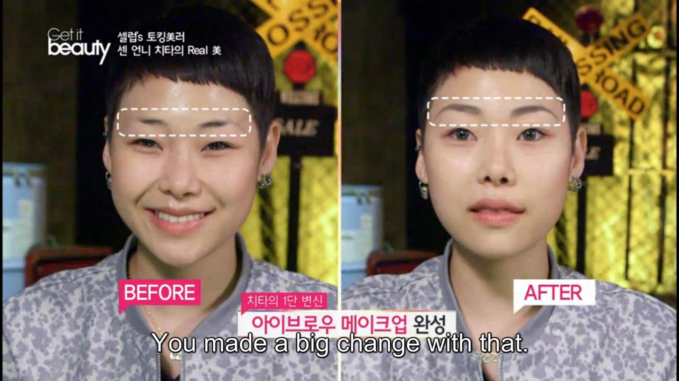 Cheetah Shows Us The Step By Step Process Of Creating Her Iconic Look On Get It Beauty Asian Junkie