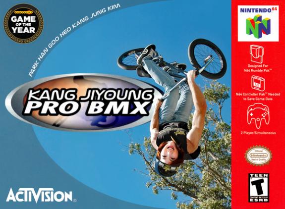 Kang Jiyoung Pro BMX (Cover Art)