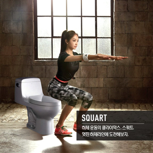 Want better bowel movements... Squart, don't sit!