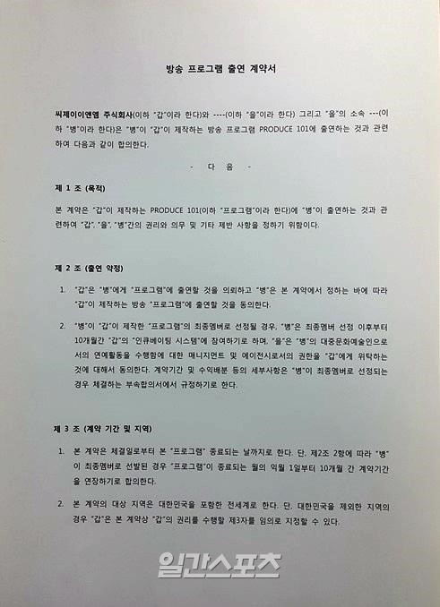 Produce101Contract