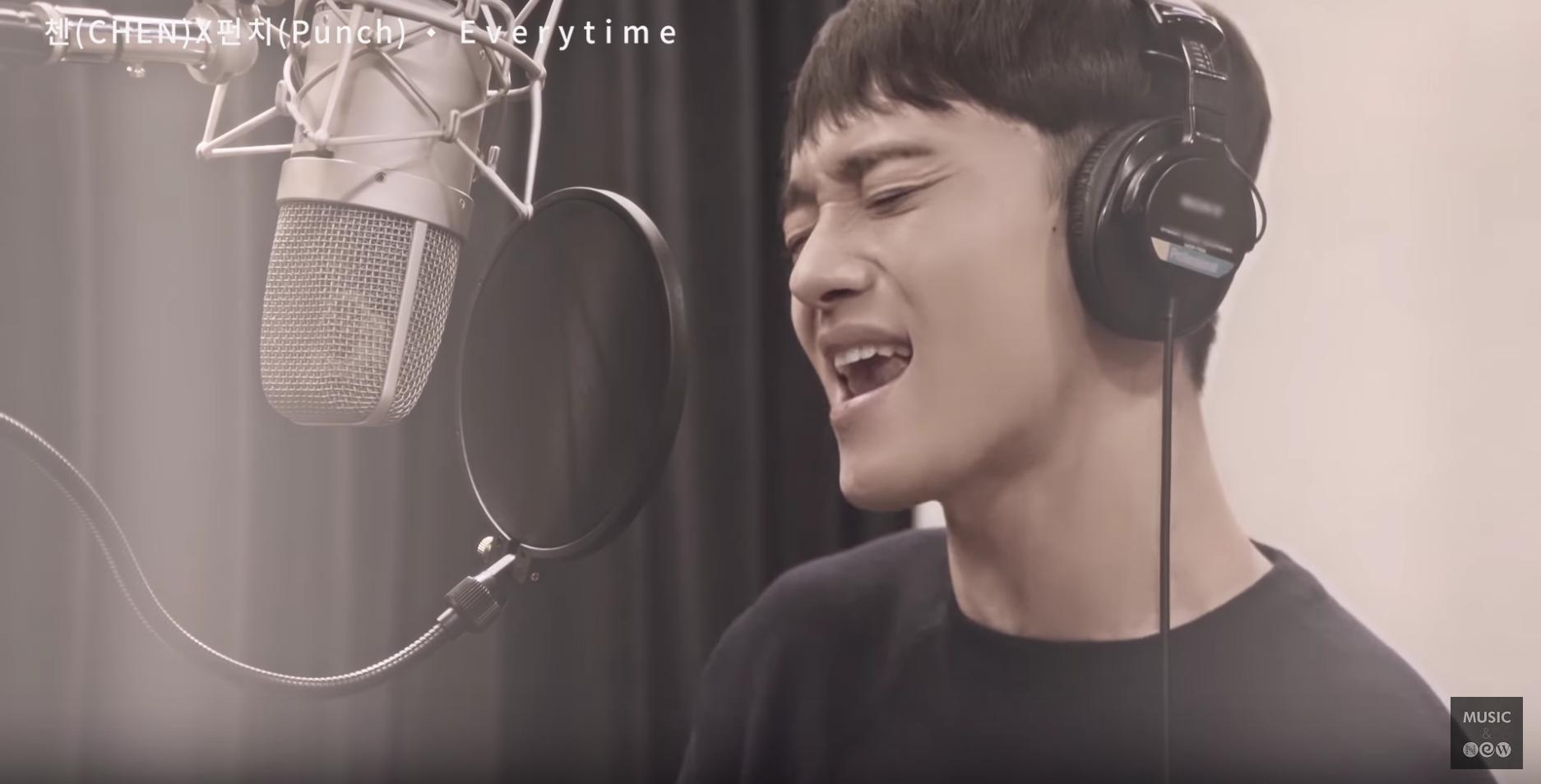 Chen feeling it